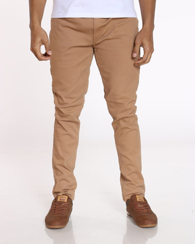 SKAZI-Men's Chris Twill Pant - Khaki-VIM.COM