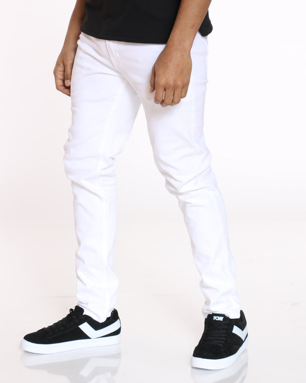 Men's Chris Twill Pant - White