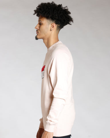 Chenille Savage Patch Long Sleeve Tee