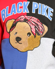 Pike Bear Crew Sweatshirt - Black