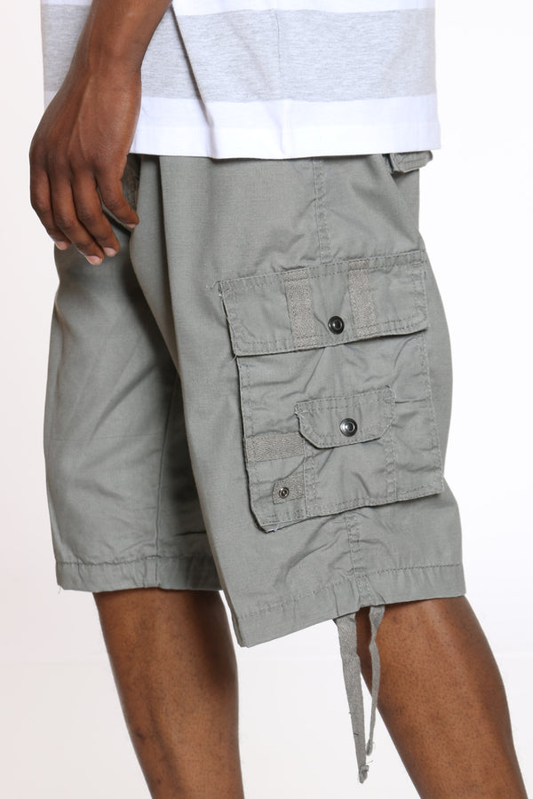 Men's Cargo Short - Grey-VIM.COM