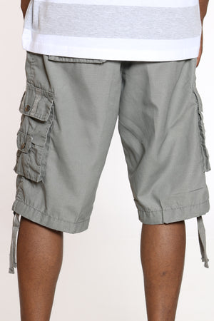 Men's Cargo Short - Grey