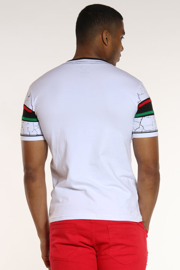 On Our Way Italy Shirt - White