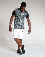 Men's 78 POWER STARS CAMO TEE