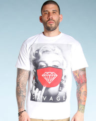 VIM Men'S Marilyn Savage Mask Diamond Tee - Vim.com