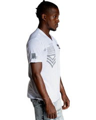 VIM Men'S Three Button Henley Tee (Available In 2 Colors) - Vim.com