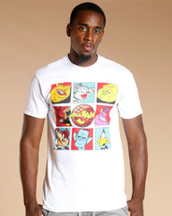 Men's SPACE JAM CHARACTERS TEE - WHITE