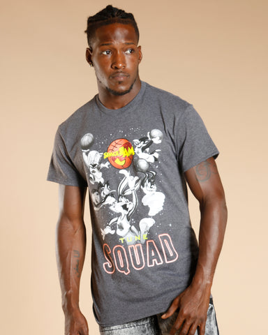 Men'S Space Jam Squad Tee - Charcoal