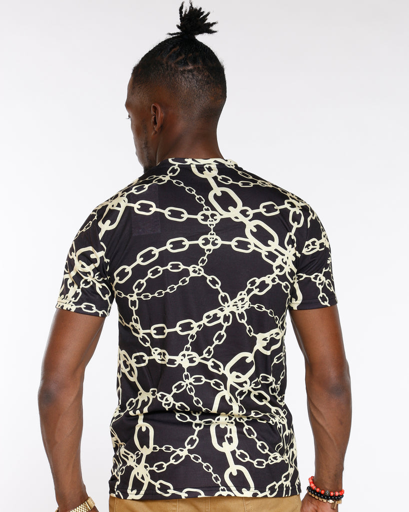 All Over Chains Sublimation Tee