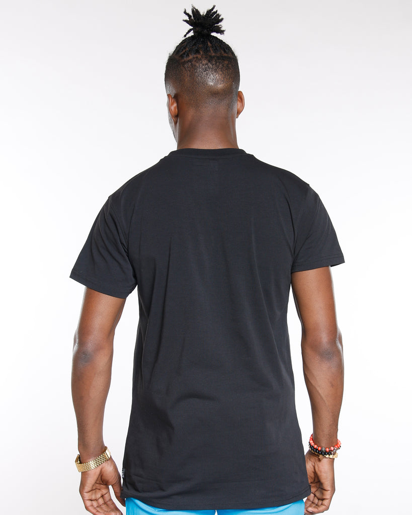 VIM Abstract Art Stretch Tee - Black - Vim.com