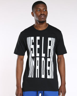 Men's Self Made Tee - Black