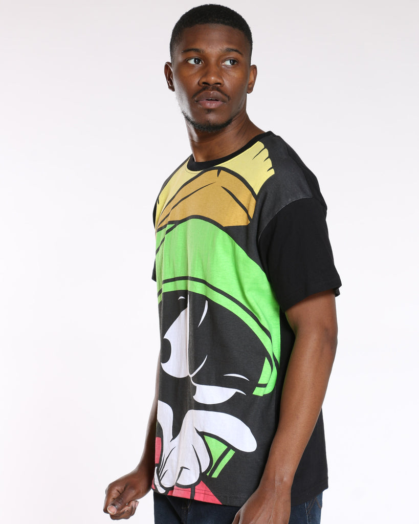 Marvin The Martian Tee - Black