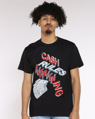 Cash Rules Everything Tee - Black