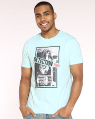 Detection Girl Patch Tee - Blue