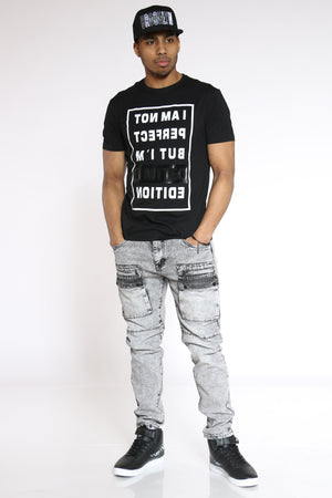 Men's I Am Not Perfect Limited Edition Tee - Black