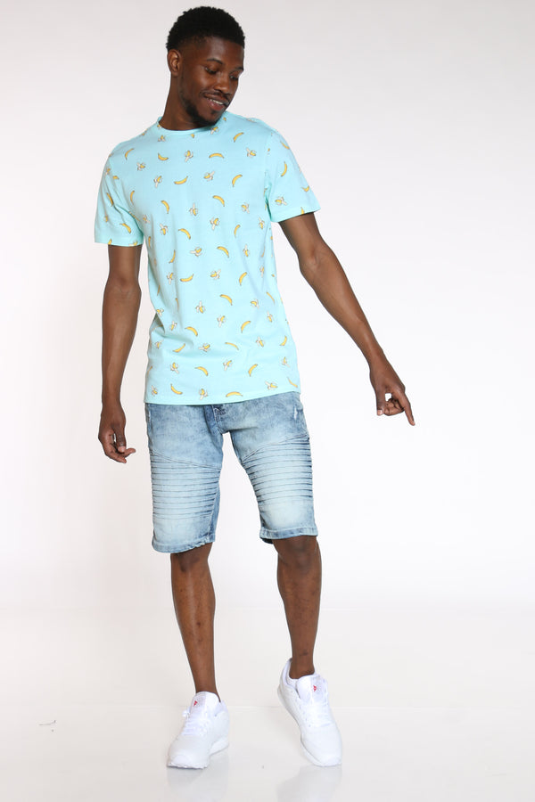 Men's Pineapples & Bananas Tee - Green