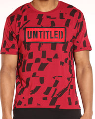 Untitled Box Logo Design Tee - Red