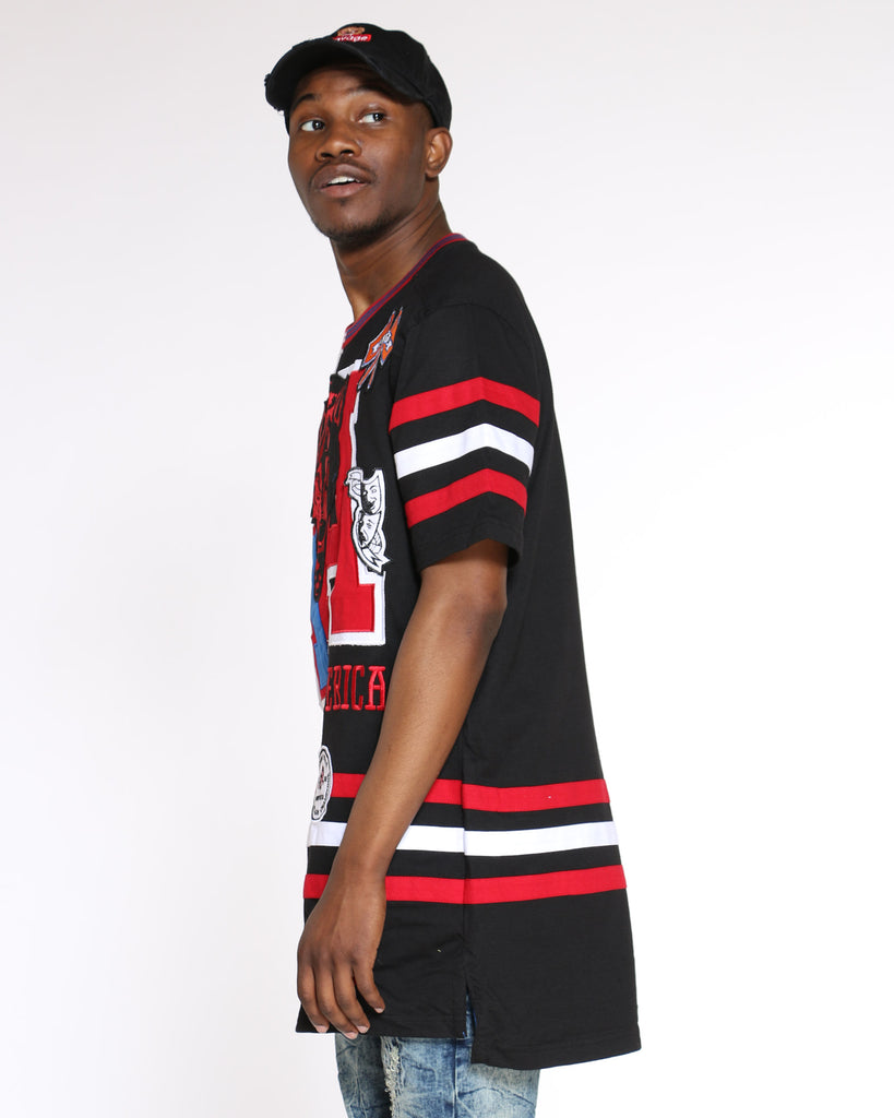 H A Patches Tee - Red