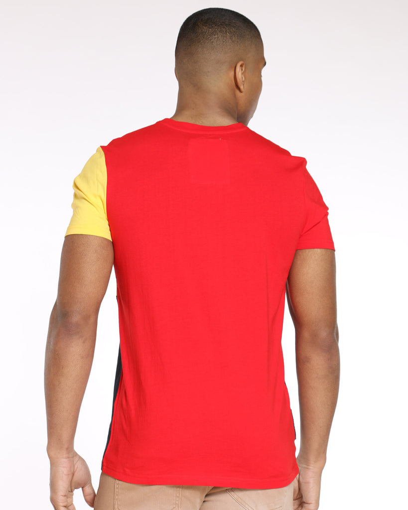 Color Block Heritage Tee - Multi