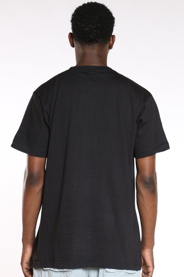 Men's Savage Rubber Print Tee - Black