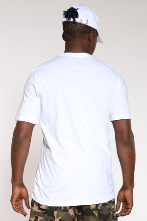 Men's Nasa Block Tee - White