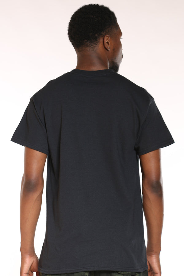 Men's All Money In Bear Tee - Black