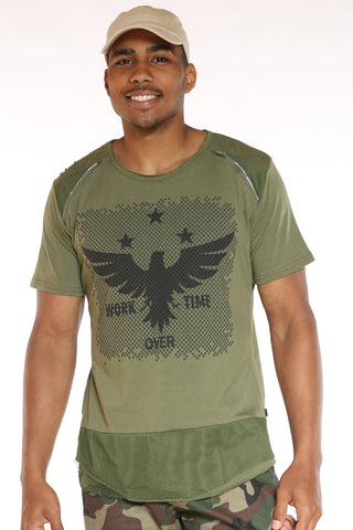 Men's Eagle Tee - Green-VIM.COM