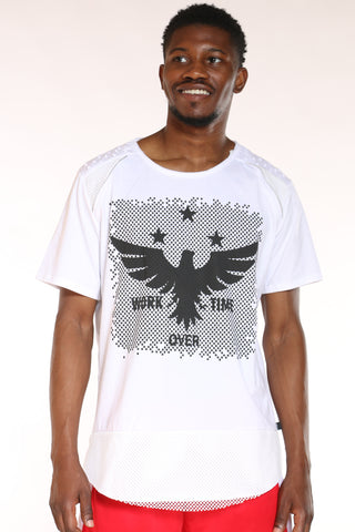 Men's Eagle Tee - White-VIM.COM