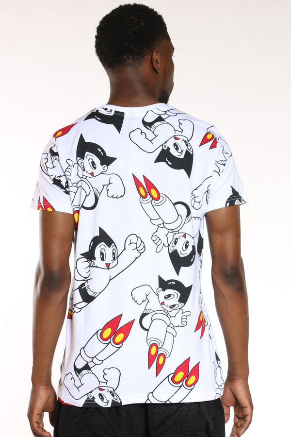 Men's Astro Boy Tee - White