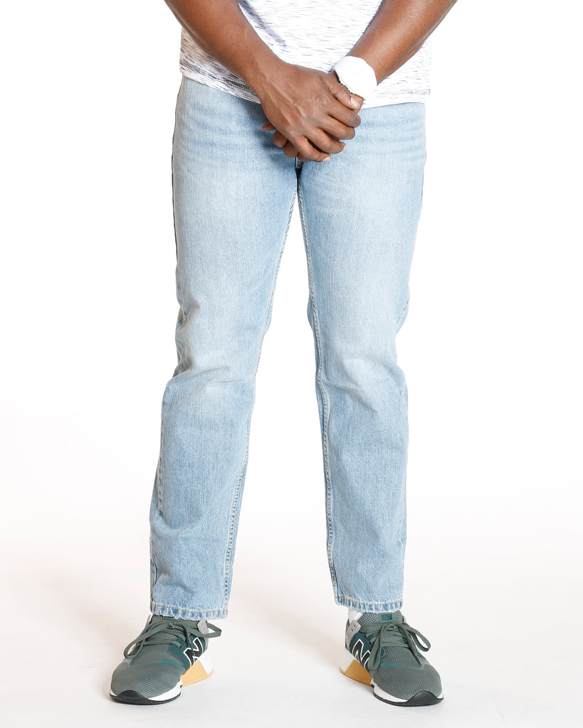 VIM Medium Blue 505 Kalsomine Regular Fit Jean - Vim.com