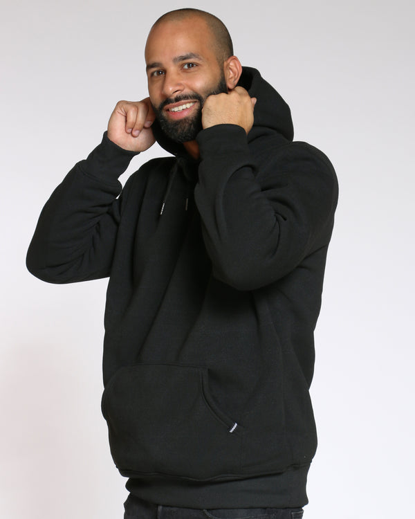 Men's Rick Classic Fleece Hoodie - Black