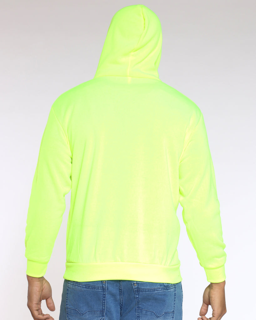 Cj Pull Over Hoodie - Yellow