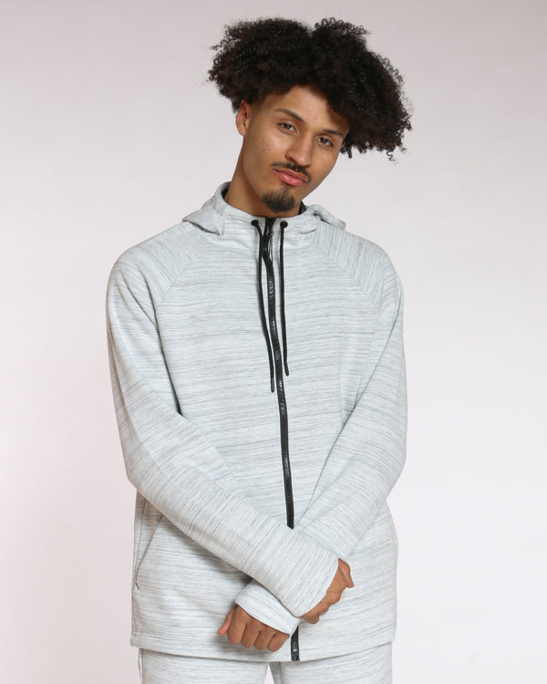Men's Russell Fusion Hoodie - Artic White-VIM.COM