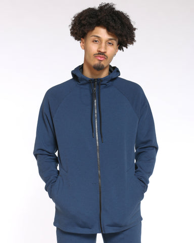 Men's Russell Fusion Hoodie - Blue Cove-VIM.COM