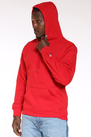 Men's Russell Pullover Fleece Hoodie - Red