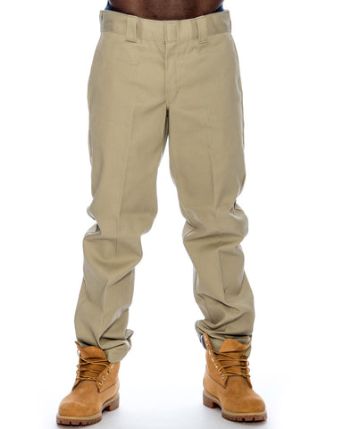 Men'S Slim Straight Work Pants