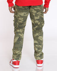 Jeffrey Belted Cargo Pant - Camo