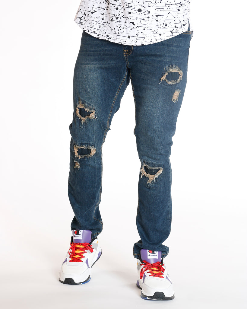 Closed Rips Stretch Skinny Jean