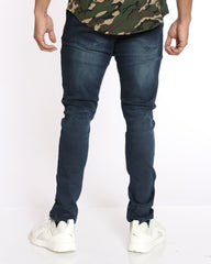 Dax Light Ripped Jean - Ink