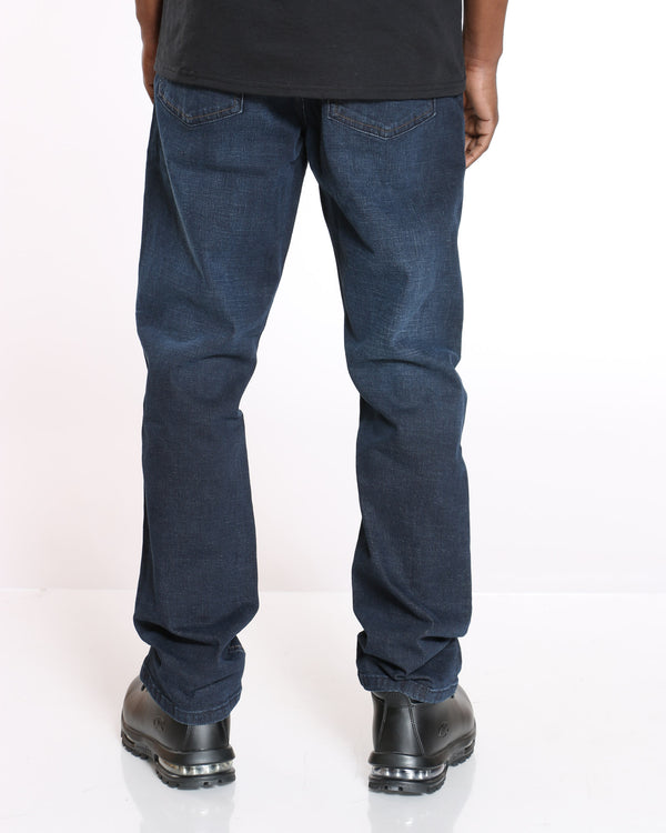 Men's Maine Relaxed Fit Straight Leg Jean - Dark Blue