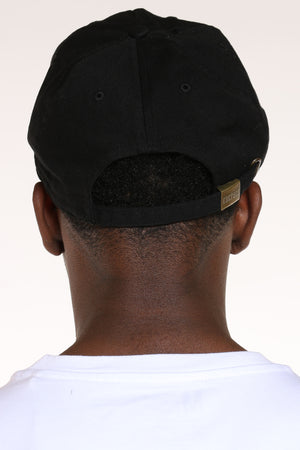 Men's Show Me The Money Ripped Dad Hat - Black