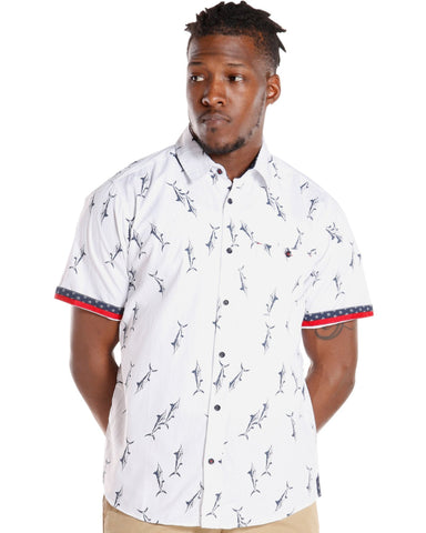 Men's All Over Prints Woven Shirt (Available in 8 colors)