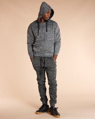 Heavy Marble Fleece Hoodie (Available In 4 Colors)