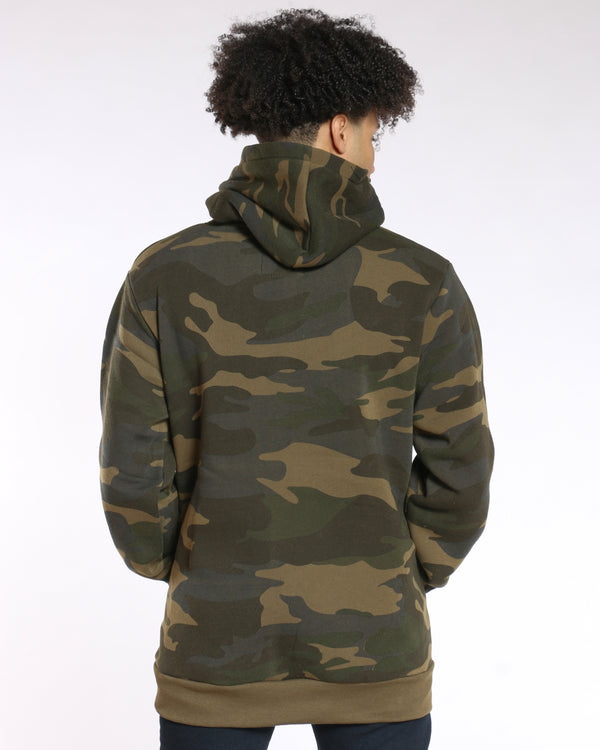 Men's Camo Savage Pullover Hoodie - Army