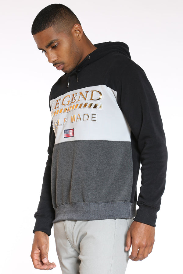 Men's Self Made Hoodie - Black