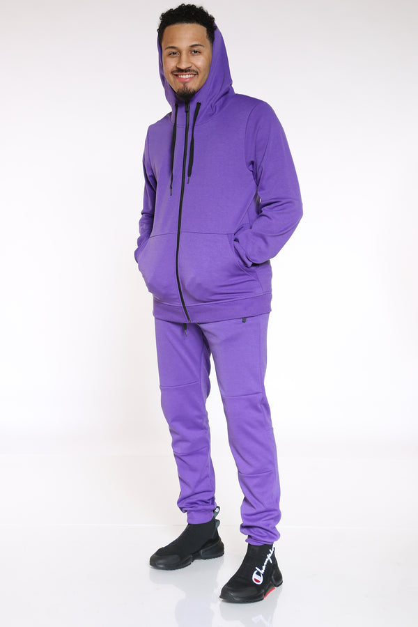 Men's Tech Fleece Hoodie - Purple