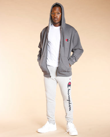 Champion Big C Powerblend Fleece Hoodie
