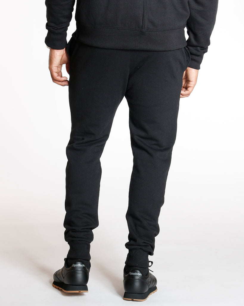 Big C Power Blend Fleece Jogger - Black