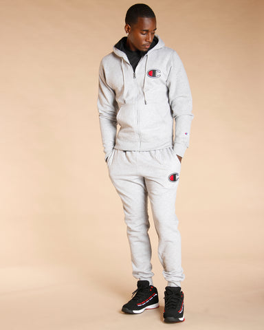 Powerblend Fleece Jogger C Logo - Grey