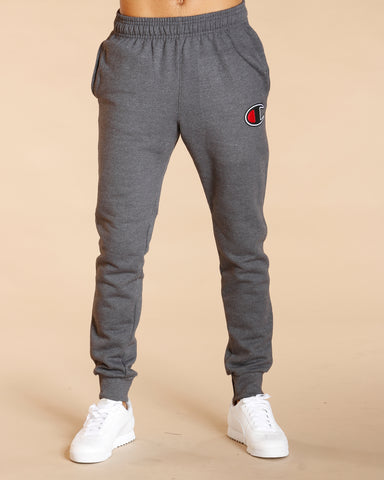 Powerblend Fleece Jogger C Logo - Heather Grey